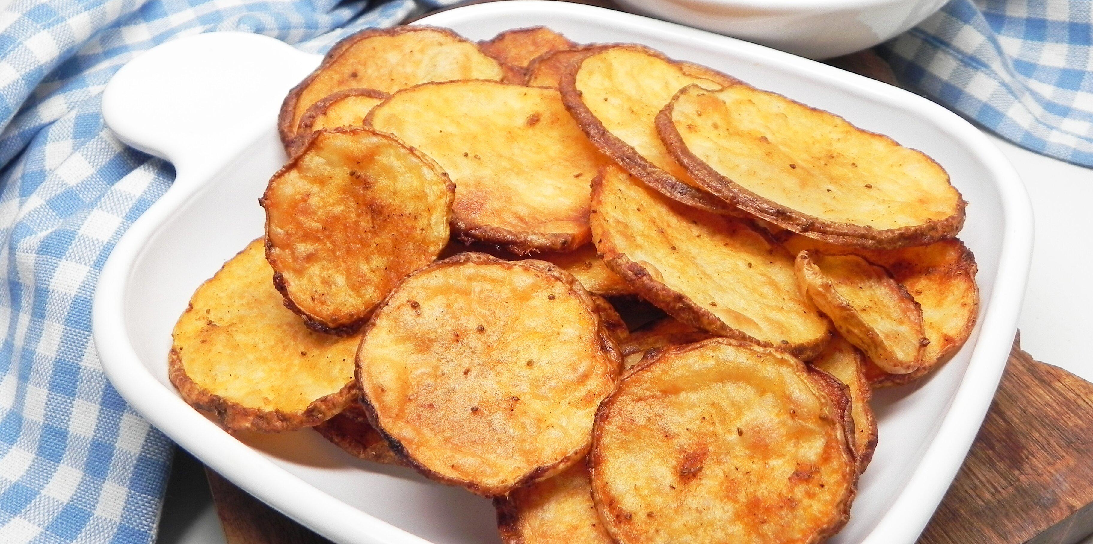 oven baked potato slices recipe