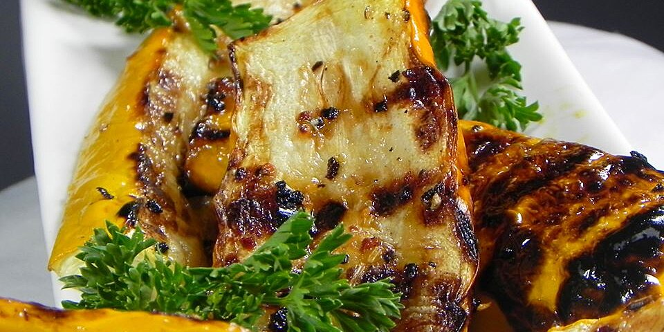 grilled yellow squash recipe