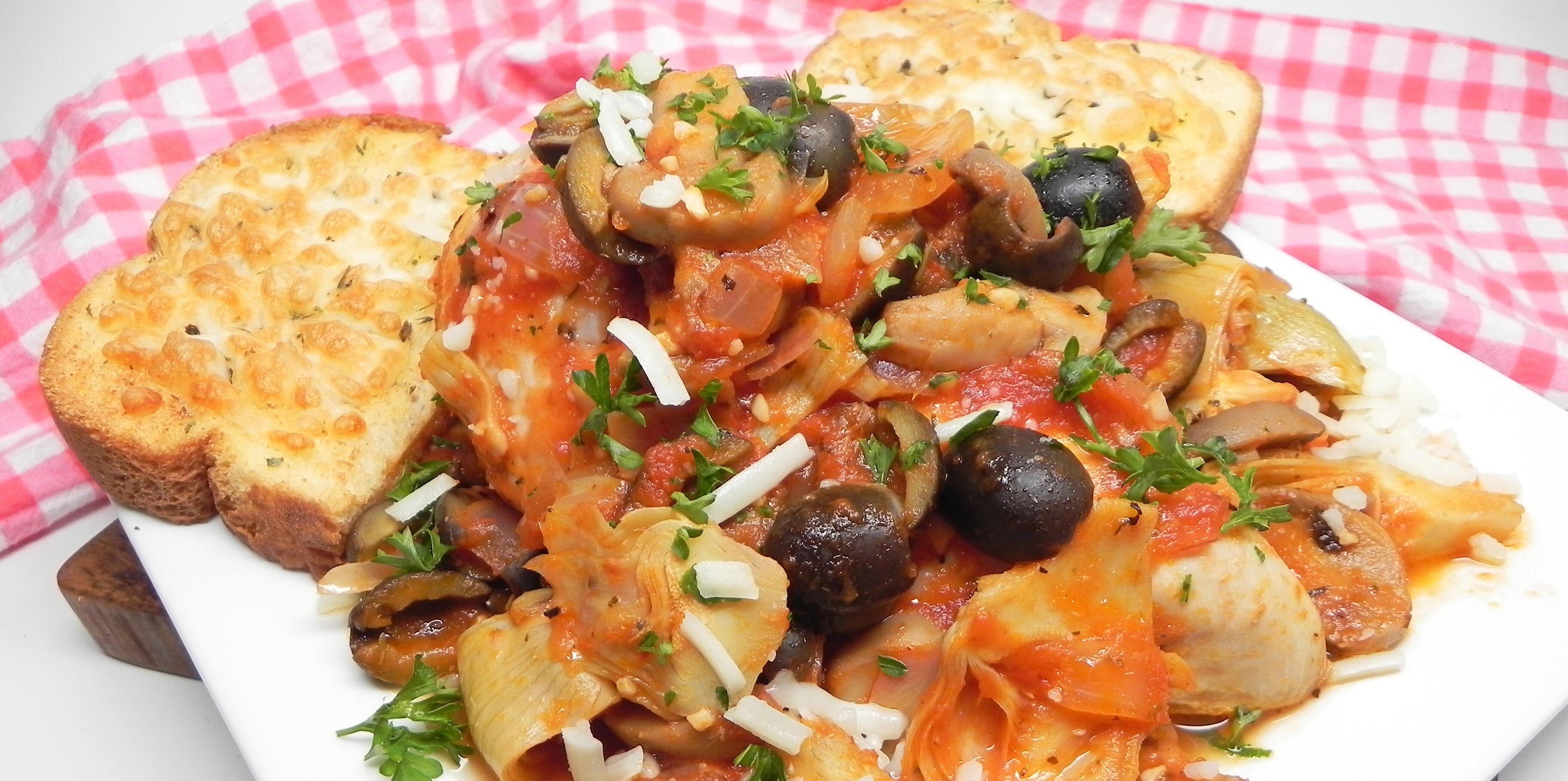 one pot mediterranean chicken recipe