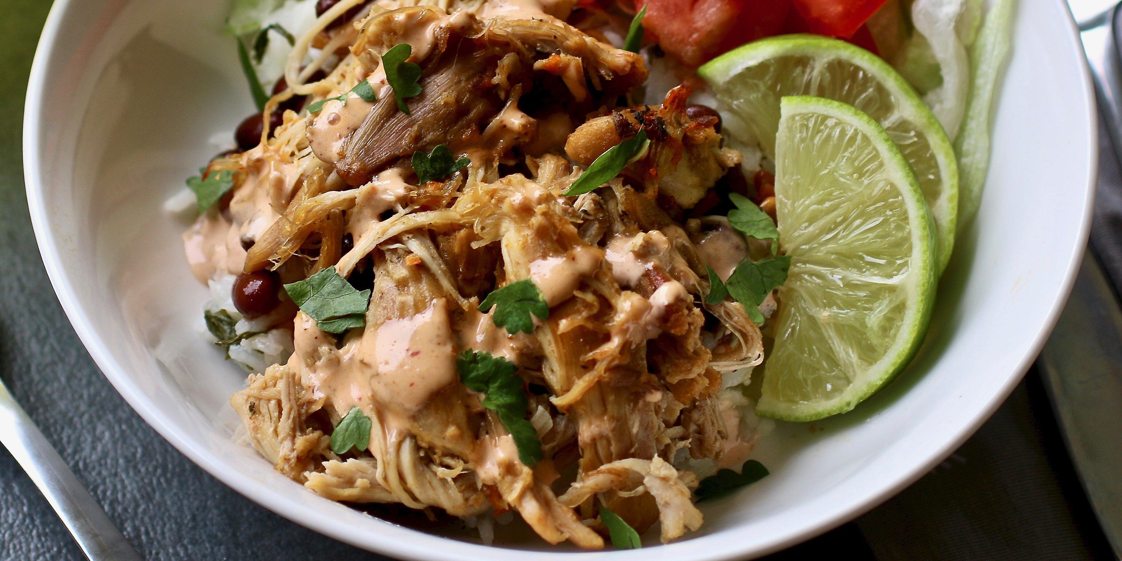 instant pot crispy chicken carnitas recipe