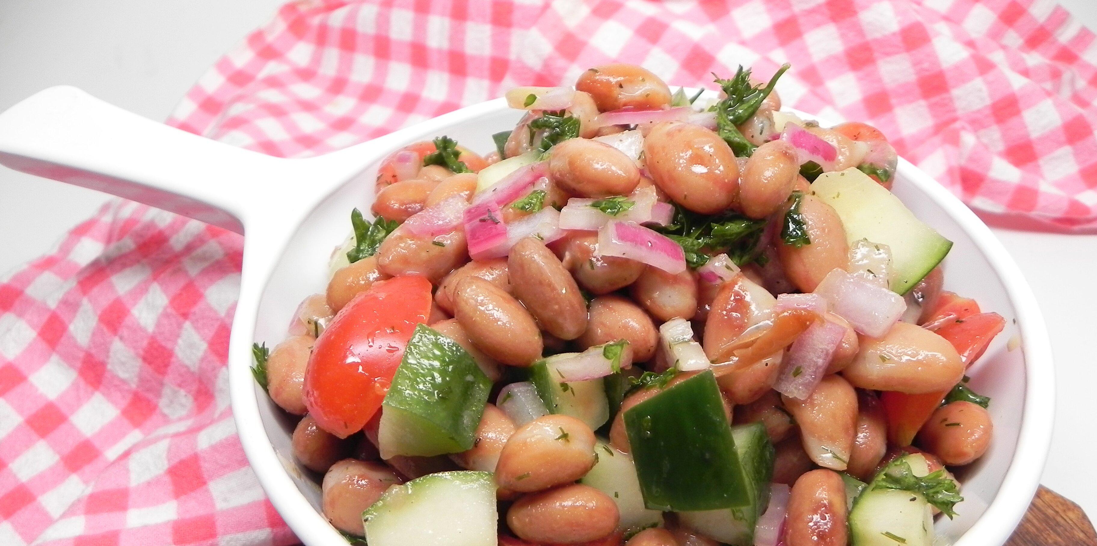 cranberry bean salad recipe