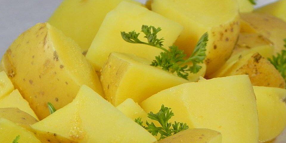 boiled mustard potatoes recipe