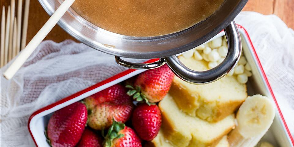 peanut butter fondue recipe