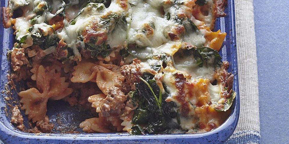 ritas spinach casserole