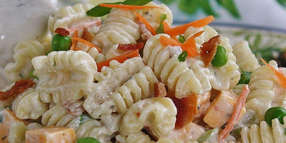 ranch bacon and parmesan pasta salad recipe