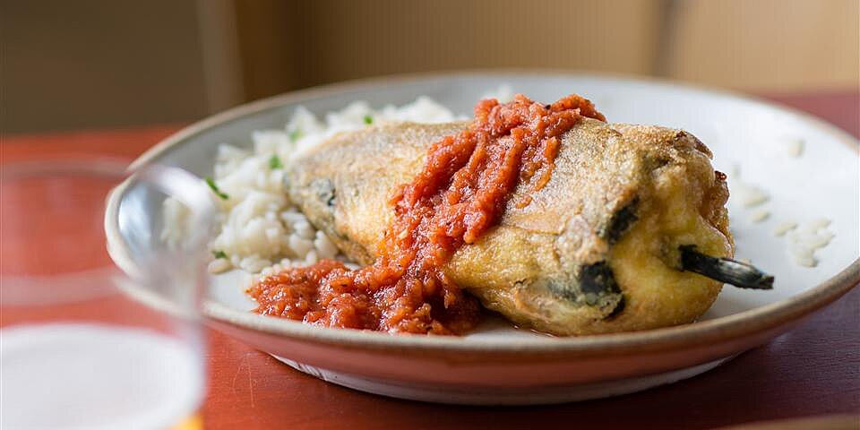 chiles rellenos stuffed peppers recipe