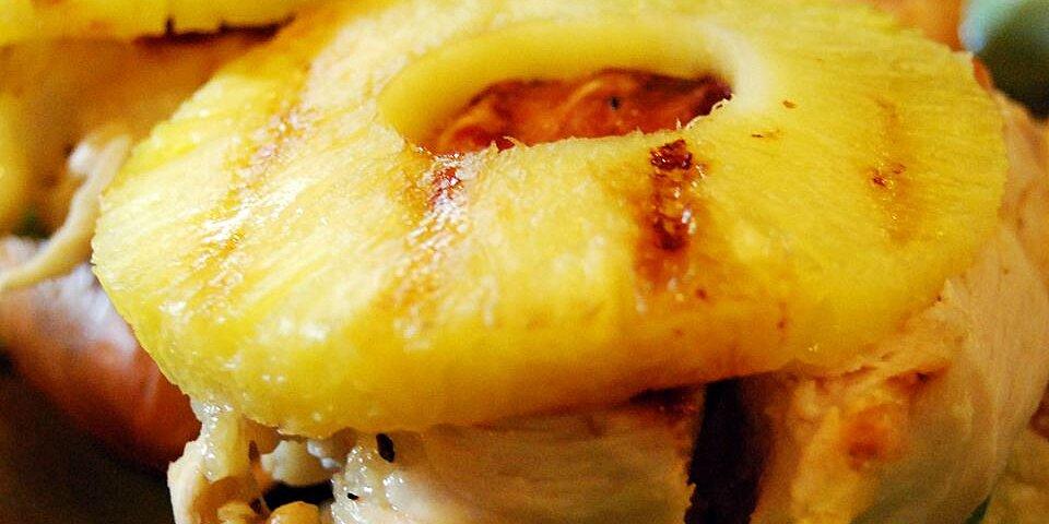 grilled chicken pineapple sliders recipe