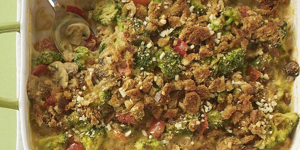 healthy broccoli cheese bake recipe
