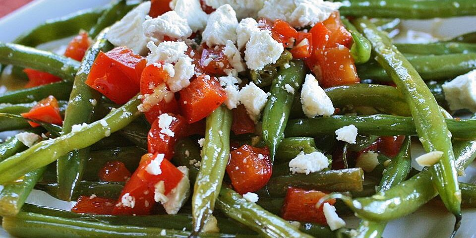 aricas green beans and feta recipe