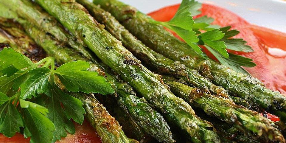 grilled parmesan asparagus recipe