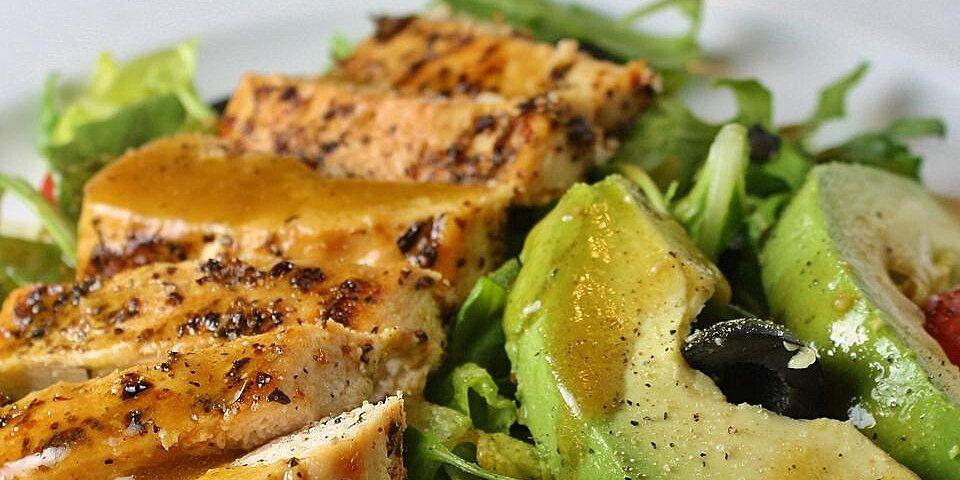 fab summer blackened chicken salad recipe