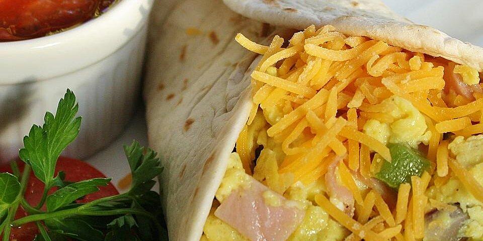 denver omelet breakfast taco recipe