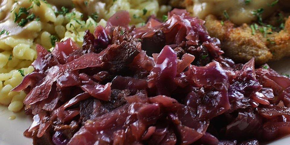 ulis apple red cabbage recipe