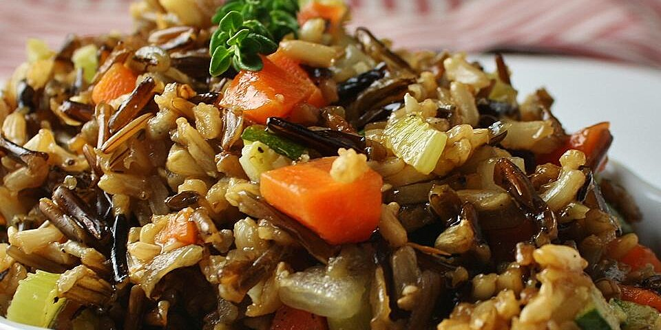 wild and brown rice recipe