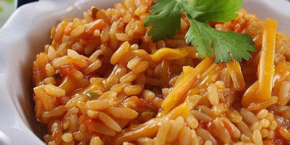 arroz rojo mexican red rice recipe