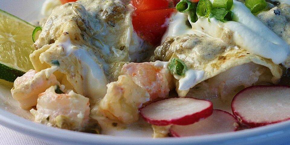 quick seafood enchiladas recipe