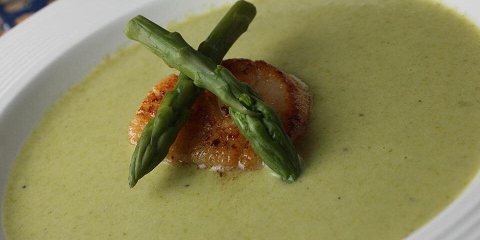cream of fresh asparagus soup ii recipe