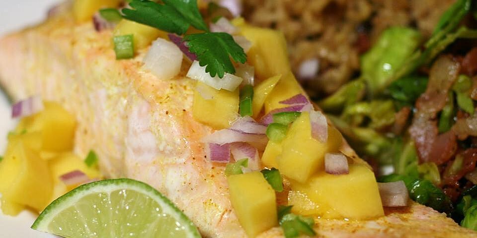 curry salmon with mango recipe