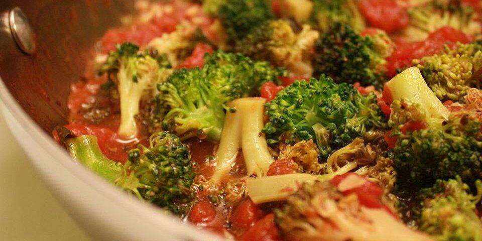 awesome broccoli marinara recipe