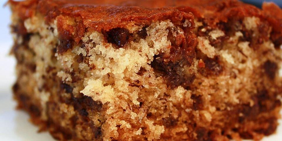 banana chocolate chip cake recipe