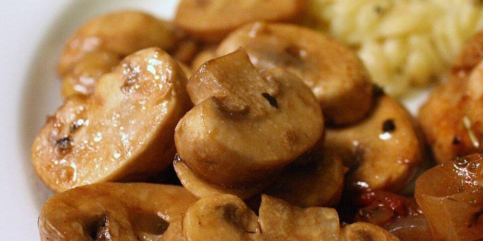 pats mushroom saute recipe