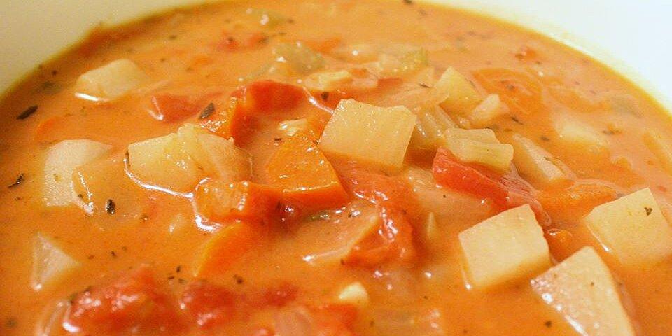 chunky tomato potato soup recipe