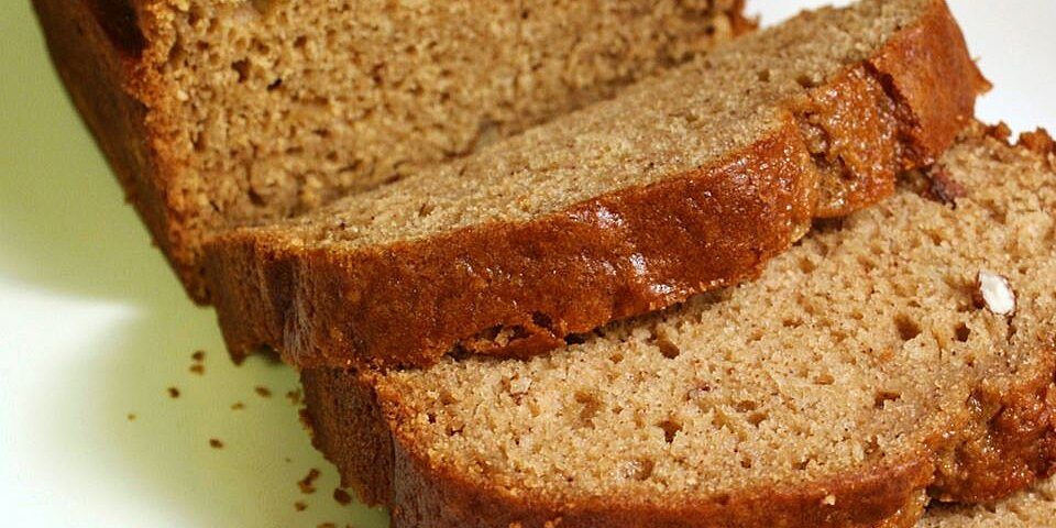 spiced applesauce bread recipe