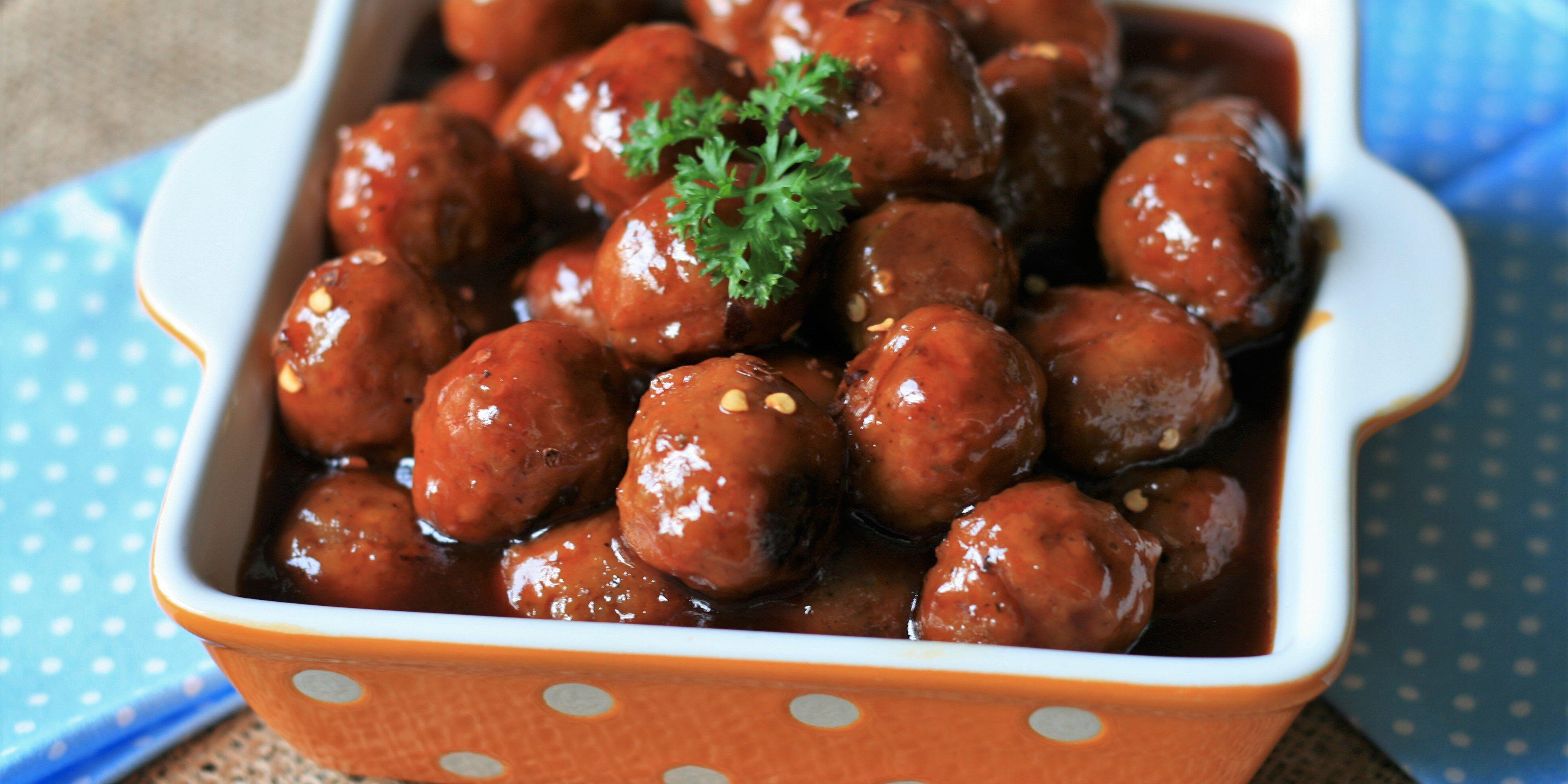 easy instant pot cocktail meatballs recipe