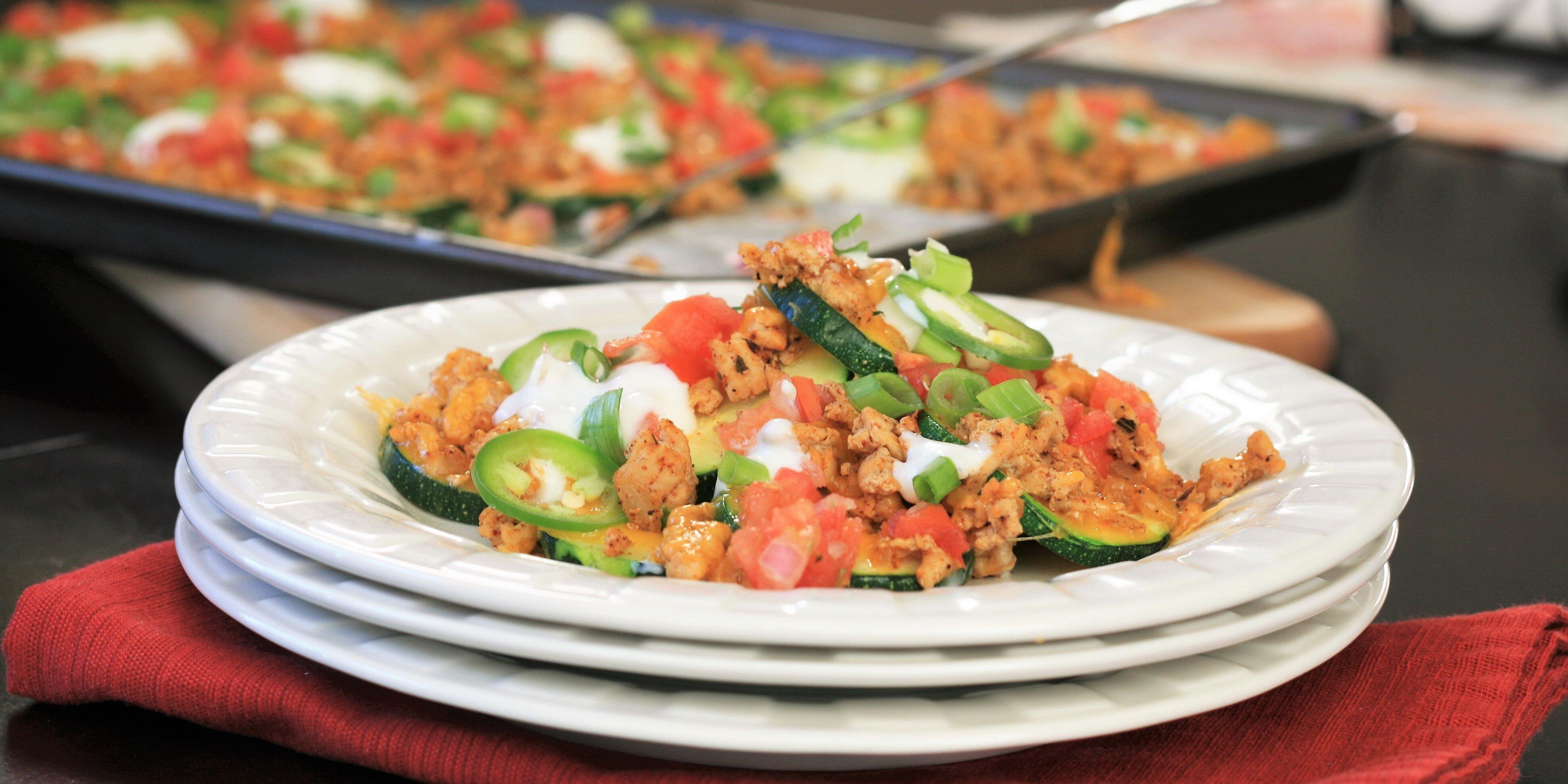 zucchini nachos recipe