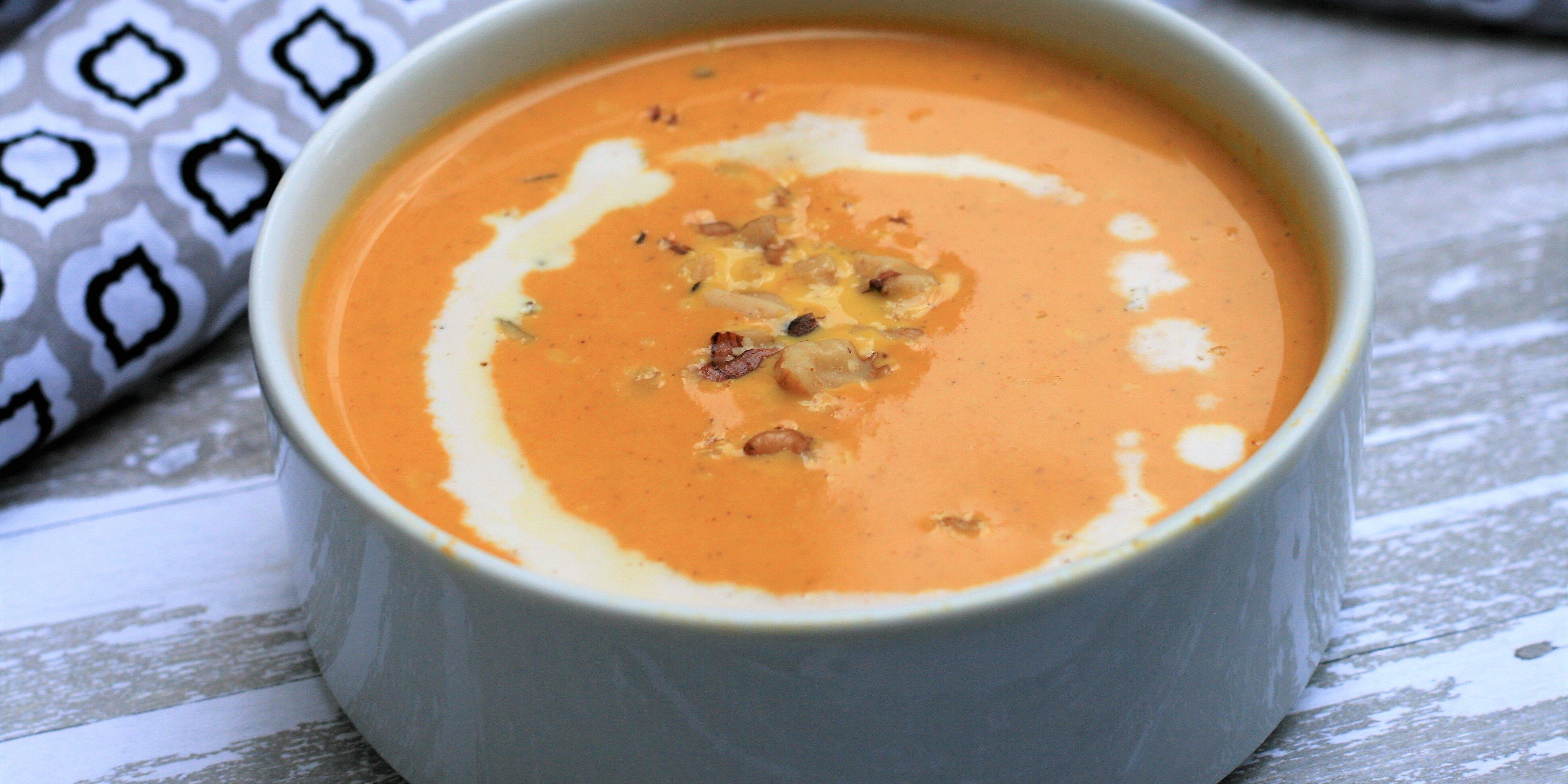 keto pumpkin soup recipe