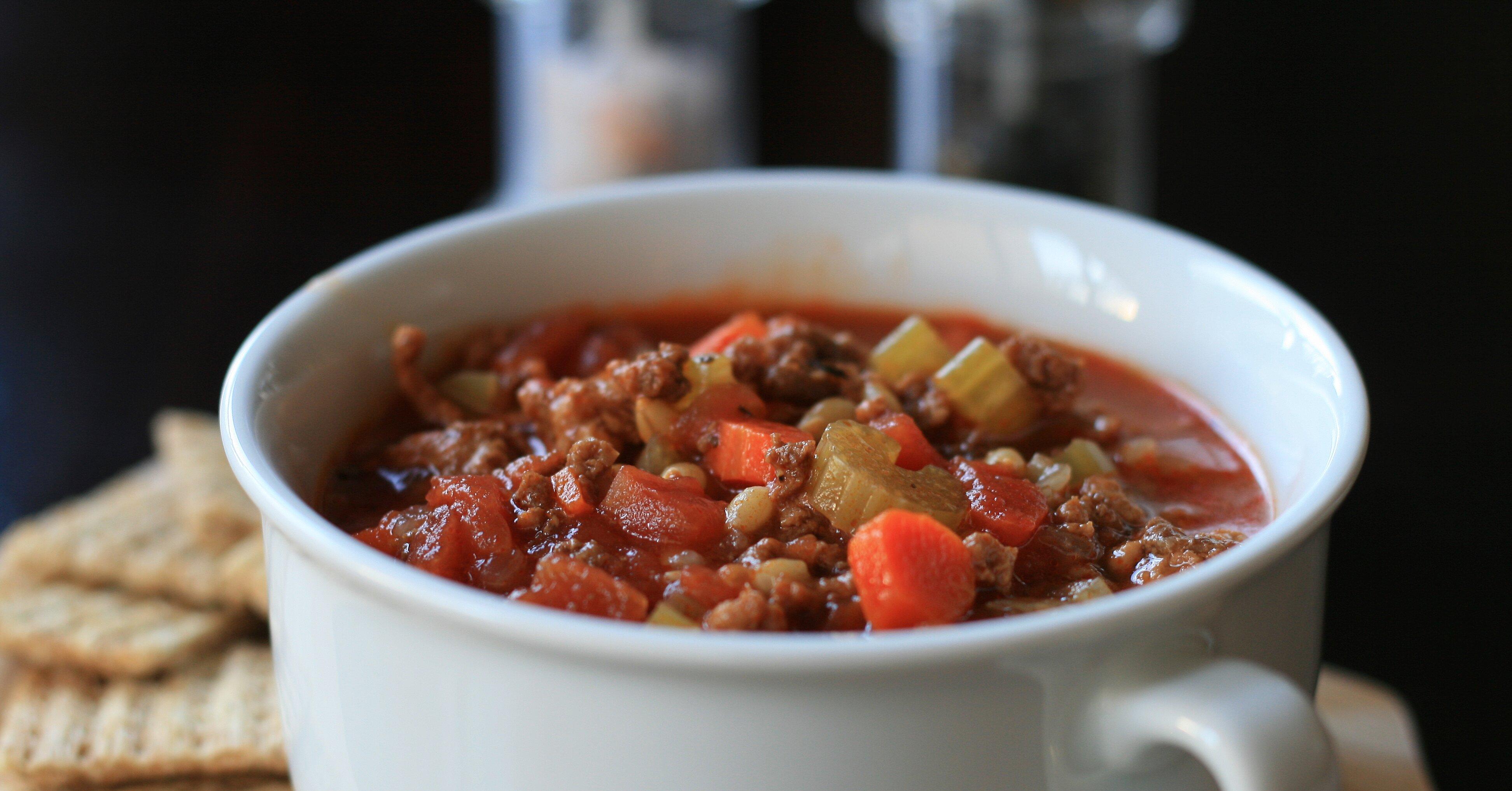 Instant Pot® Hamburger Soup