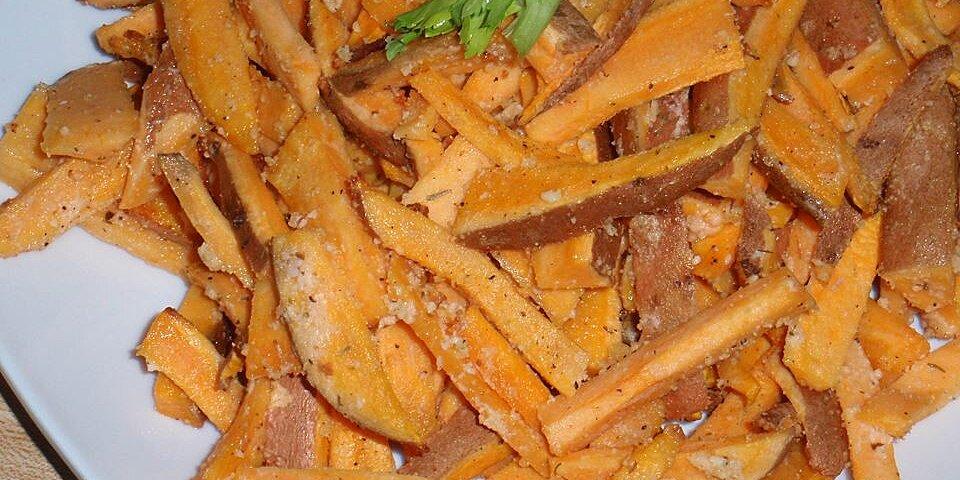 tangy sweet potato fries recipe