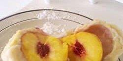 peach dumplings recipe