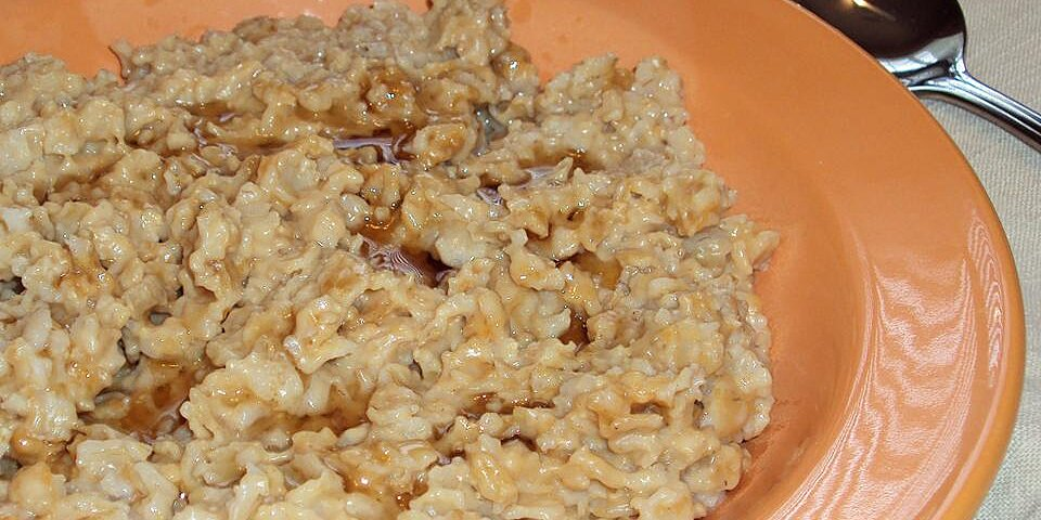 peanut butter and maple oatmeal recipe