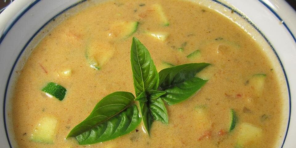 roasted garden tomato basil soup recipe