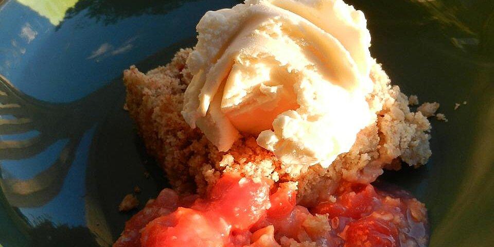 fresh cherry crisp recipe