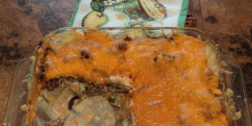 leftover meatloaf tater tot casserole recipe