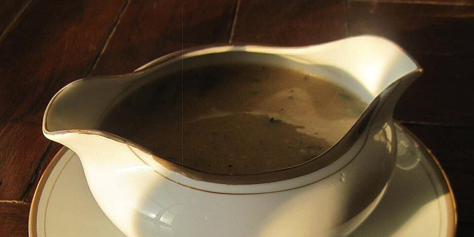 giblet gravy ii recipe