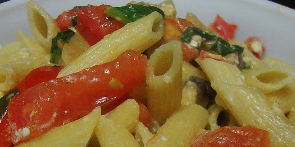 sukis spinach and feta pasta