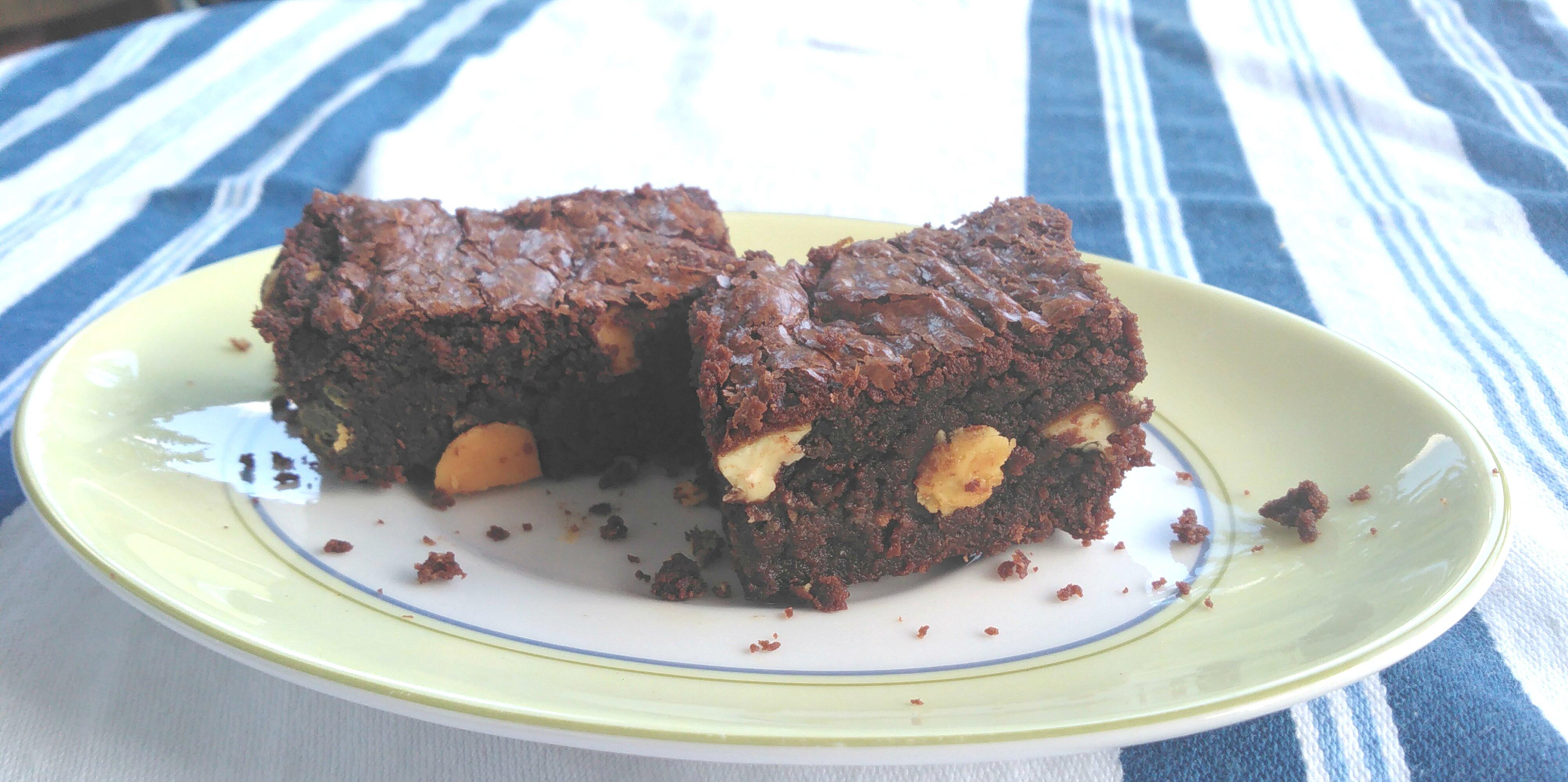 dark chocolate orange brownies recipe