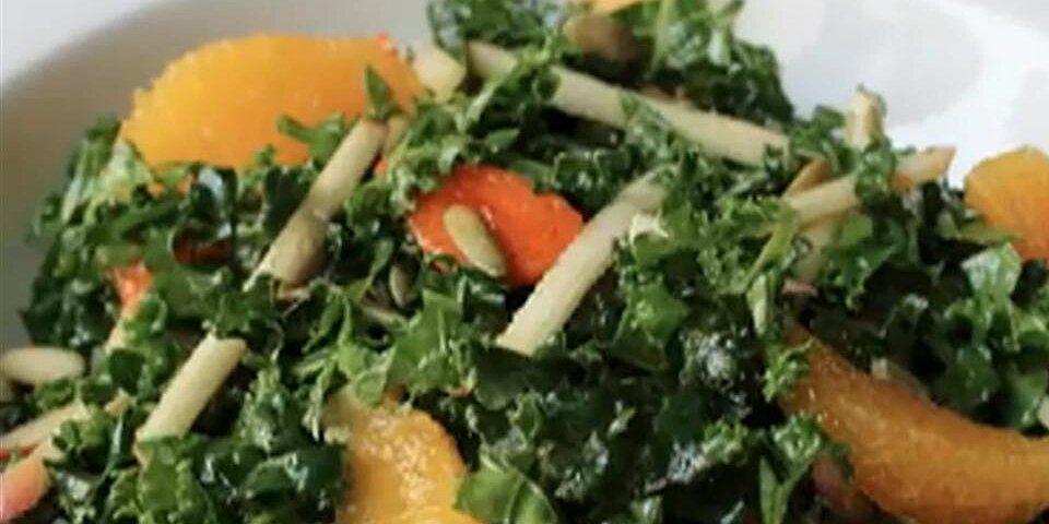 chef johns raw kale salad