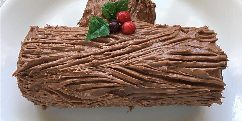 chocolate decadence yule log recipe