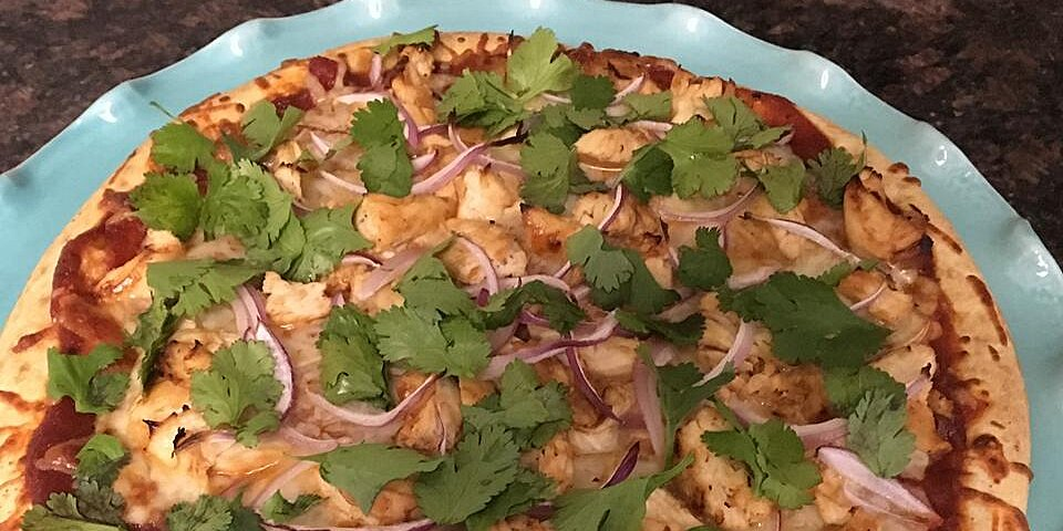 unbelievably awesome barbeque chicken pizza recipe