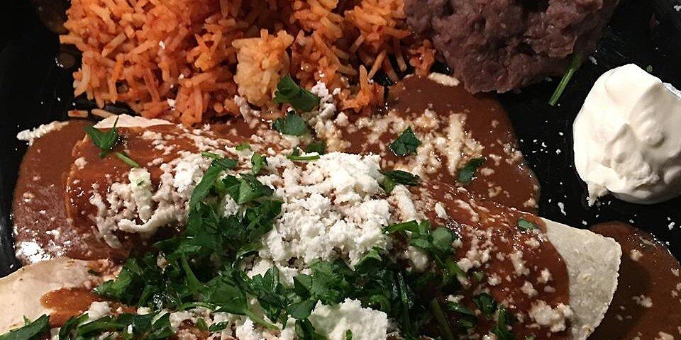 chicken enchiladas with mole sauce recipe