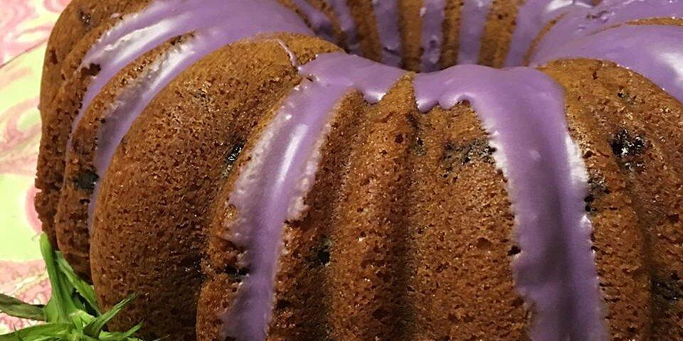 blueberry cream cheese pound cake ii recipe