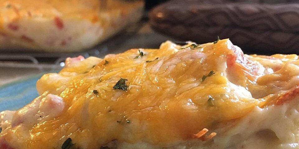 creamy chicken tortilla bake recipe