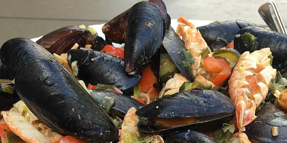 seafood scampi linguine recipe