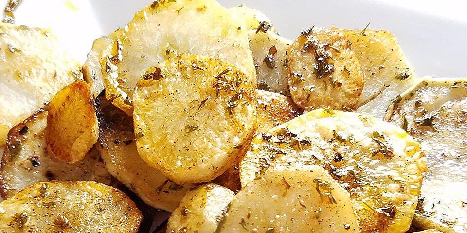 garlic herb skillet potatoes recipe