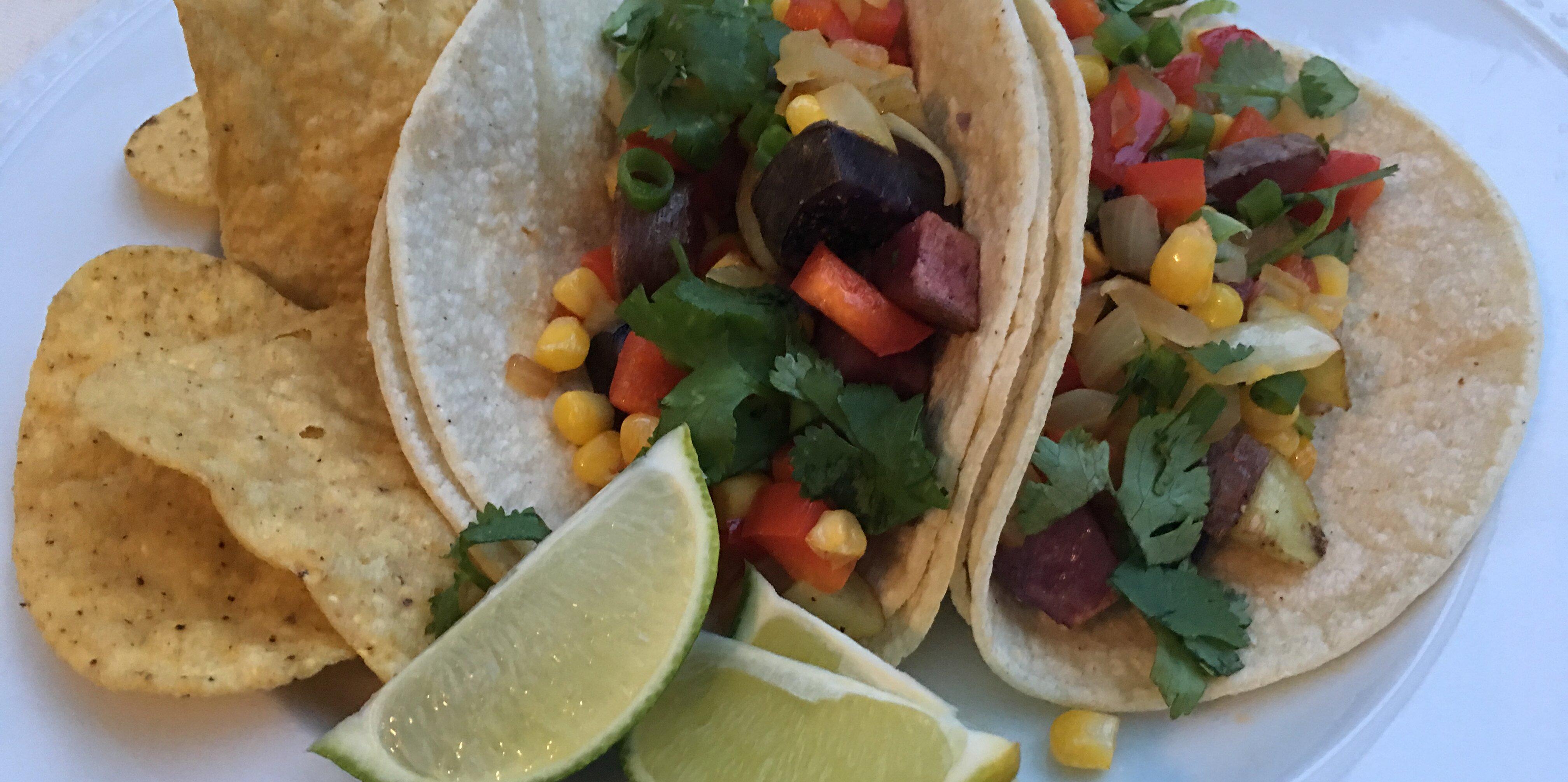 vegan potato tacos recipe