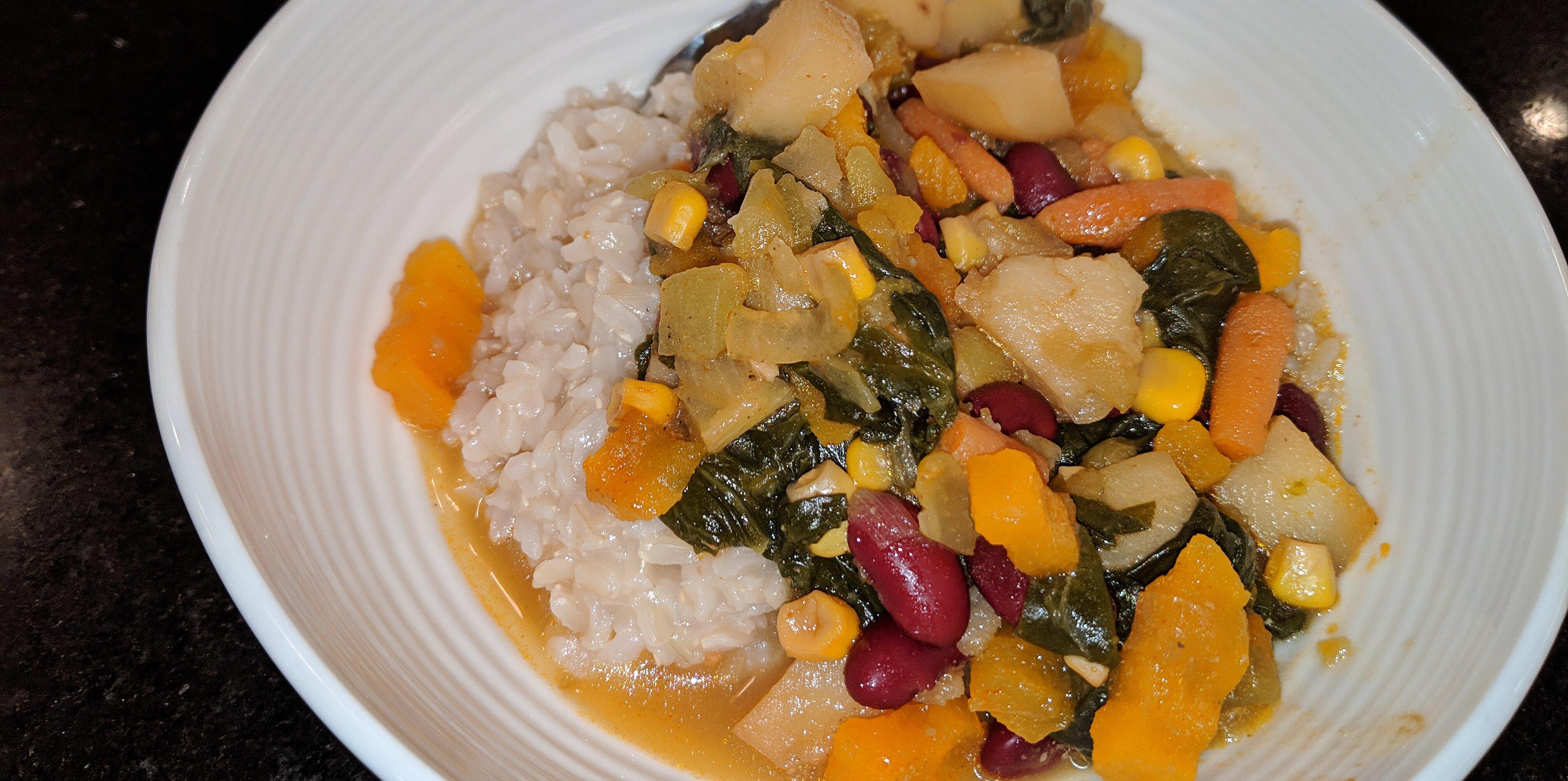 vegetarian green chile stew recipe